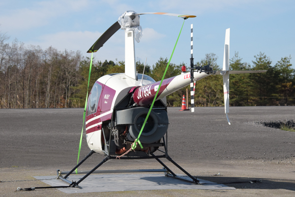 瀬峰飛行場R22 Beta Robinson Helicopter