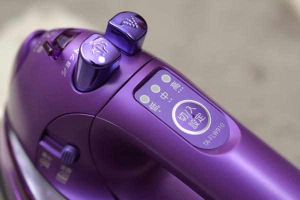 toshiba アイロン ta-flw910 電源スイッチ