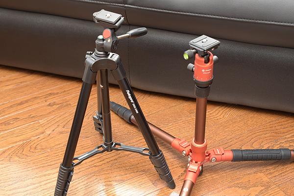 Fotopro DIGI-3400とX-go Gecko開脚